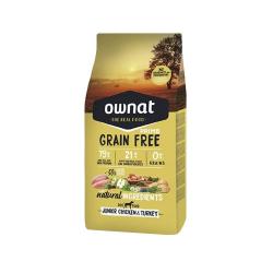Ownat Grain Free Prime-Junior Poulet & Dinde pour Chien (1)