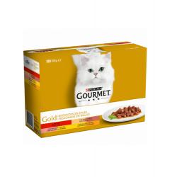 Gourmet Gold-Pack Amuse-Gueules en Sauce Assortis (1)