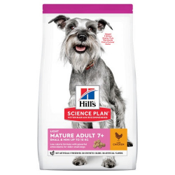 Hills-SP Mature Adult 7+ Light Mini (1)