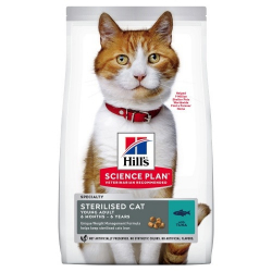Hills-SP Feline Young Sterilised Thon (1)