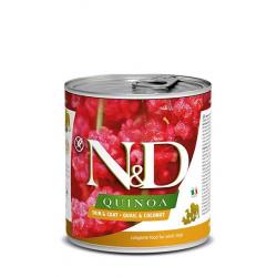 Farmina ND Dog Quinoa Skin Coat Codorniz comida húmeda para perros 6x285grs