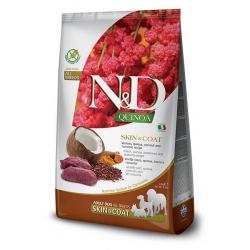 Farmina ND Dog Quinoa Grain free Skin Coat Venado pienso para perros