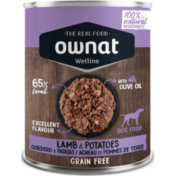 Ownat Wetline comida húmeda para perros lamb & potatoes