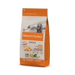 Nature's Variety croquette pour chien Selected Medium/Maxi Pollo campero