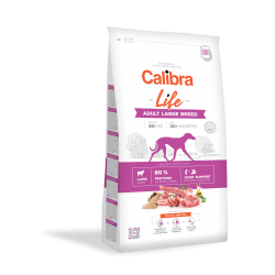 Calibra dog life adult large breed cordero pienso para perros