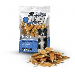 Calibra joy dog classic slice pescado pollo snack para perros