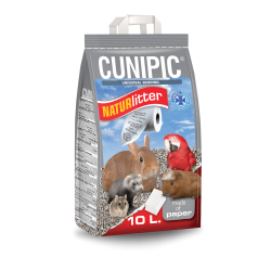 Cunipic NATURLITTER Lecho Papel Reciclado para Jaulas
