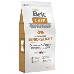 Brit care senior light salmon pienso para perros
