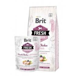 Brit fresh puppy healthy growth pollo patata pienso para perros