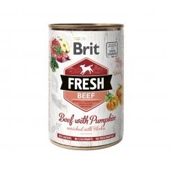 Brit fresh ternera calabaza latas para perro
