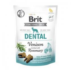 Brit care dog functional snack dental cerf